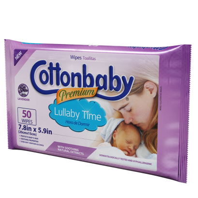 Premium Lullaby Time Wipes